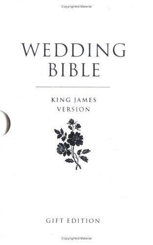 9780007182077: Holy Bible: King James Version, Standard, Wedding Bible, Gift Edition, Marriage Presentation Page, White Imitation Leather, Silver Edges