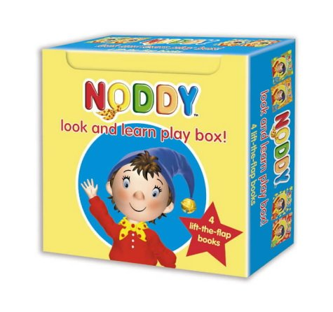 9780007183234: Noddy Look and Learn - Boxed Set: Books 1, 2, 3 and 4 (Noddy Look & Learn)