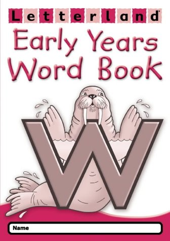 9780007183357: Early Years Word Book (Letterland)