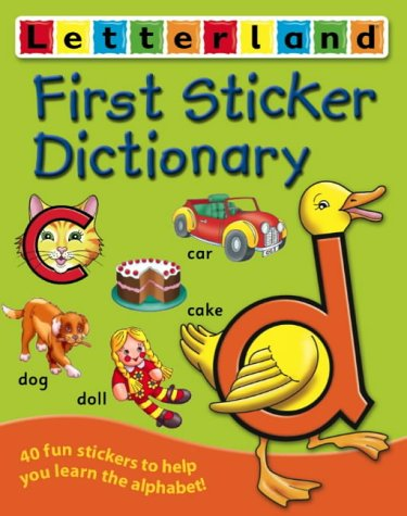 9780007183388: First Sticker Dictionary (Letterland)