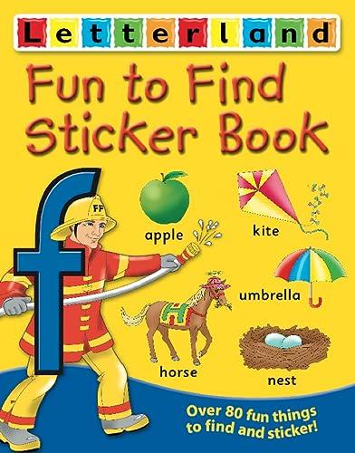 9780007183395: Fun to Find Sticker Book (Letterland)
