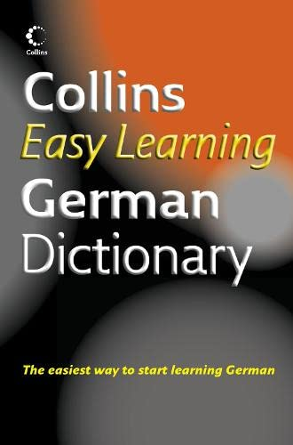 9780007183760: Collins Easy Learning German Dictionary (English and German Edition)