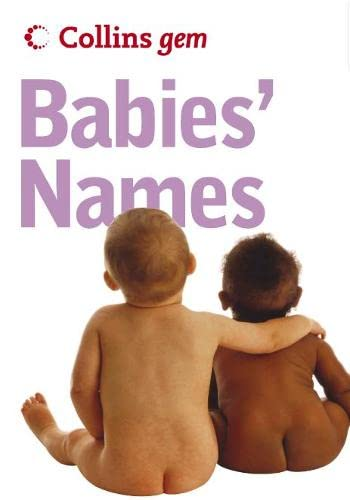 9780007183913: Babies' Names (Collins Gem)