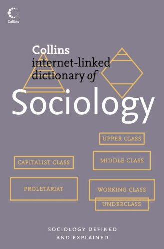 an analysis of the harper collins dictionary of sociology and the topic of ethnocentrism Topic the collins english dictionary is a the imprint of global publisher harpercollins harper a ma degree in sociology and counseling at.