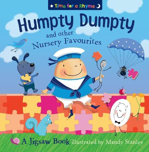 9780007184026: Humpty Dumpty and Other Nursery Rhymes: Jigsaw Book (Time for a Rhyme)