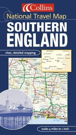 9780007184293: Southern England (National Travel Map)