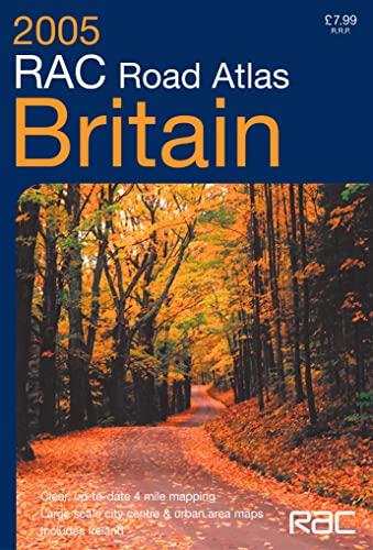 9780007184323: RAC Road Atlas Britain: 4 Mile: 4 Miles to 1 Inch