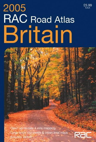 9780007184330: RAC Road Atlas Britain: 4 Mile: 4 Miles to 1 Inch