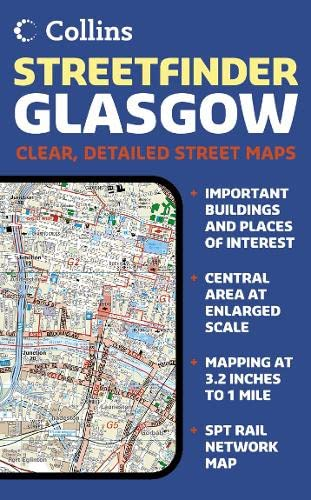 9780007184651: Glasgow Streetfinder Colour Map