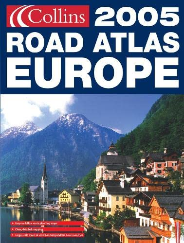 9780007185061: Collins Road Atlas 2005: Europe