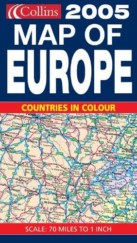 9780007185085: Map of Europe 2005