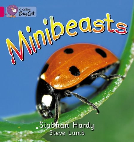 Collins Big Cat - Minibeasts: Band 01a/Pink: Hardy, Siobhan