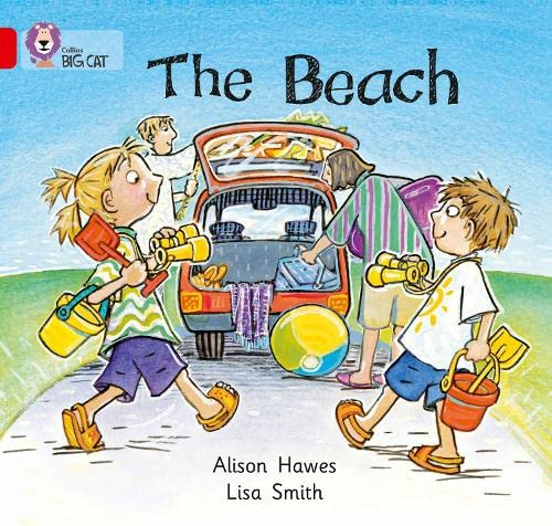 Collins Big Cat - The Beach: Band 02A/Red A: Hawes, Alison