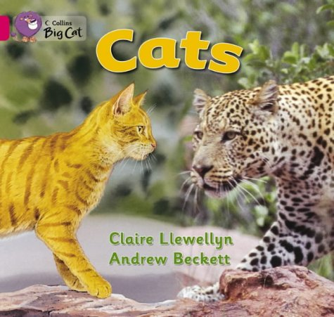 Cats: Band 01B/Pink B (Collins Big Cat): Llewellyn, Claire