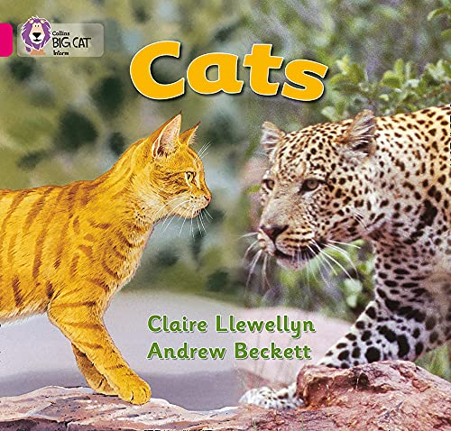 9780007185481: Cats (Collins Big Cat)