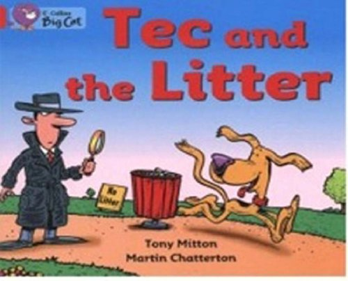 Tec and the Litter: Band 02B/Red B: Collins Big Cat,