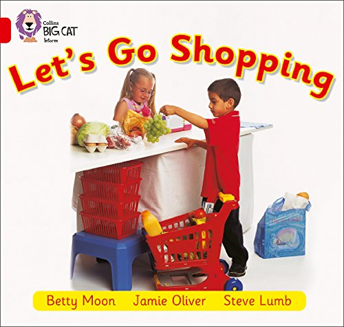 Collins Big Cat - Let's Go Shopping: Band 02B/Red B: Moon, Betty