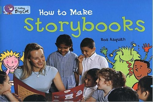 9780007186099: Collins Big Cat - How to Make a Storybook: Band 07/Turquoise