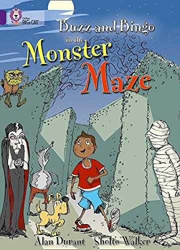 9780007186174: Buzz and Bingo in the Monster Maze (Collins Big Cat)
