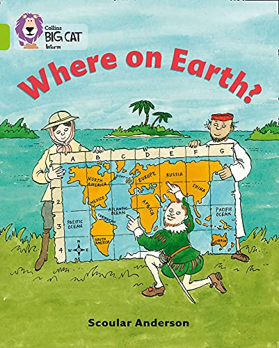 9780007186334: Where on Earth? (Collins Big Cat)