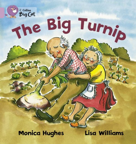 9780007186440: Collins Big Cat - The Big Turnip: Band 00/Lilac