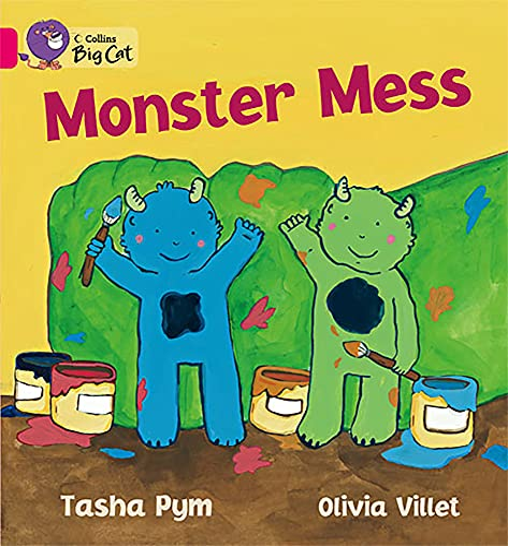 9780007186501: Collins Big Cat - Monster Mess: Band 01B/Pink B