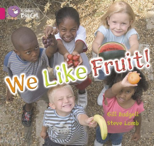 9780007186532: Collins Big Cat - We Like Fruit: Band 01B/Pink B