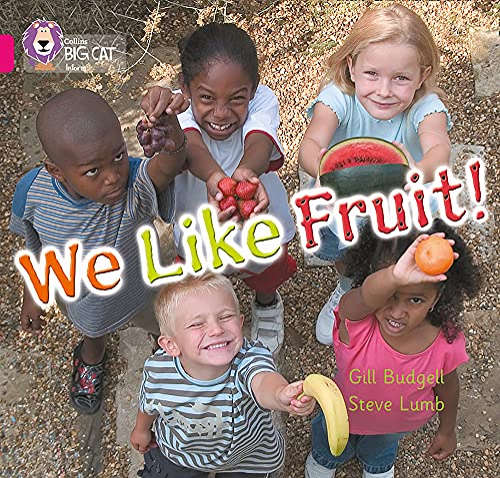 9780007186532: We Like Fruit (Collins Big Cat)