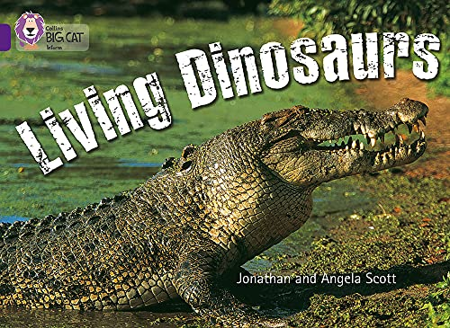 9780007186730: Collins Big Cat - Living Dinosaurs: Band 08/Purple
