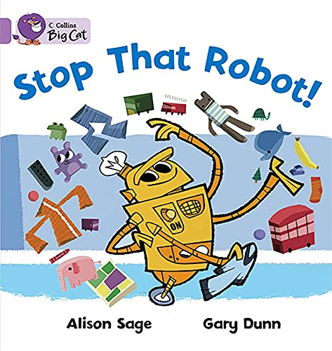 9780007186785: Stop That Robot! (Collins Big Cat)