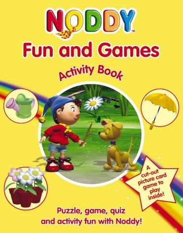 9780007188871: Noddy Fun and Games Activity Book