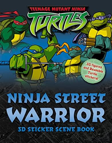 9780007189137: Teenage Mutant Ninja Turtles - Ninja Street Warrior: Sticker Scene Book