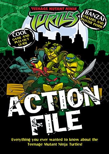 9780007189199: Teenage Mutant Ninja Turtles - Action File