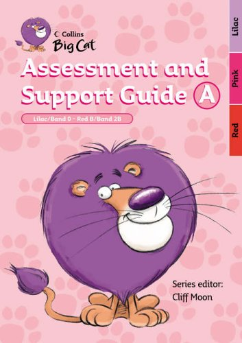 9780007189281: Collins Big Cat - Assessment and Support Guide A: Band 00-02/Lilac-Red: Band 00 Lilac