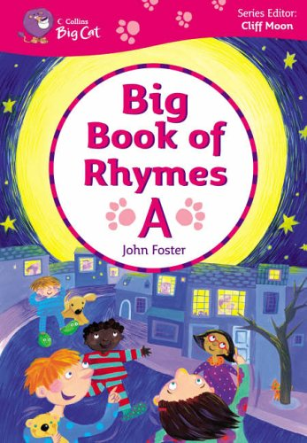 9780007189328: Big Book of Rhymes A: Band 00-02/Lilac-Red (Collins Big Cat Big Books)