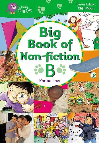 9780007189359: Big Book of Non-fiction B: Band 03-05/Yellow-Green (Collins Big Cat Big Books)