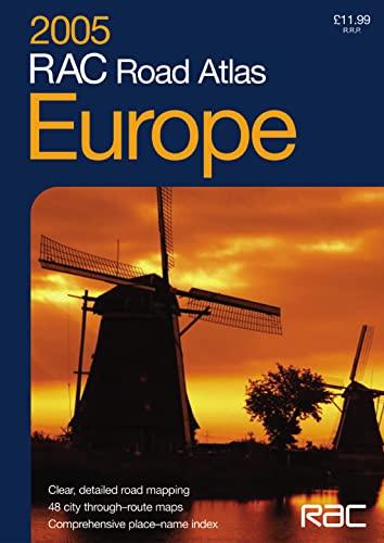 9780007190287: 2005 RAC Road Atlas Europe: Small Format