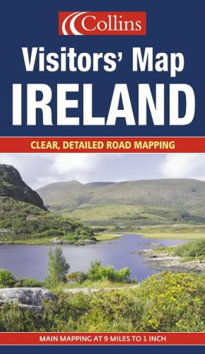9780007191468: Ireland (Visitors' Map)