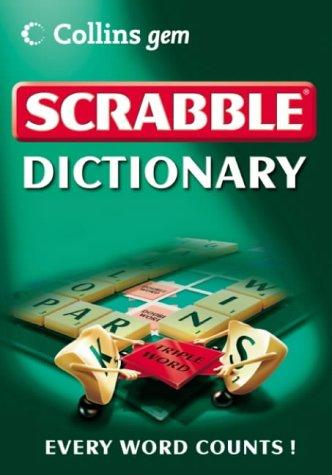 9780007191567: Scrabble Dictionary (Collins GEM)