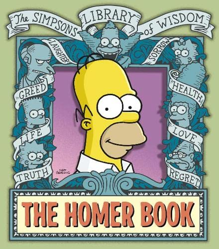 "9780007191680: The Homer Book (The ""Simpsons"" Library of Wisdom)"