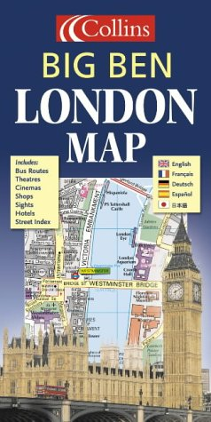 9780007191871: London Big Ben Map