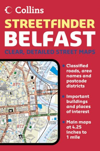 9780007191932: Belfast Streetfinder Colour Atlas