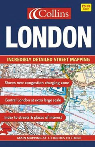 9780007191994: London Street Atlas Small
