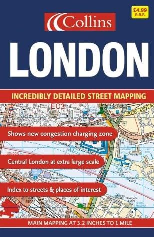 9780007192007: London Street Atlas Small