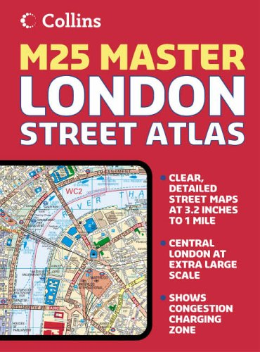 9780007192014: London M25 Master Street Atlas