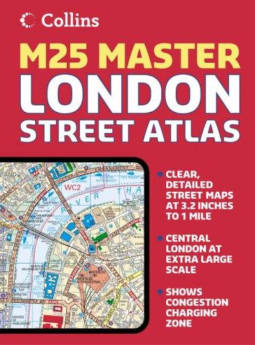 9780007192021: London M25 Master Street Atlas