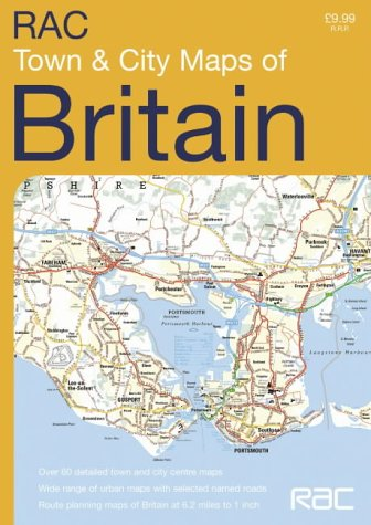 9780007192045: RAC Town and City Maps Britain (Road Atlas)