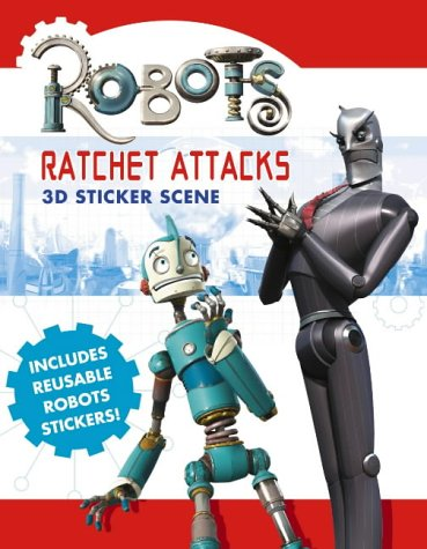 9780007192281: Robots - Ratchet Attacks: Sticker Scene Book
