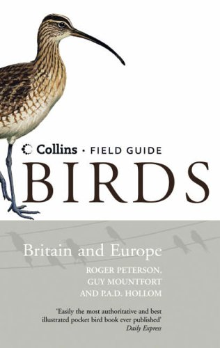 9780007192342: Collins Field Guide - Birds of Britain and Europe