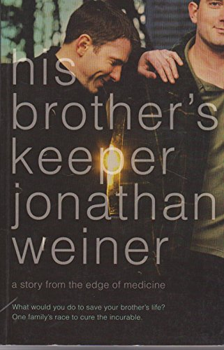 9780007192649: His Brother's Keeper : A Story from the Edge of Medicine